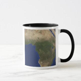 Earth showing landcover over Africa Mug