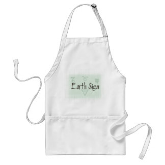 Earth SIgns Apron