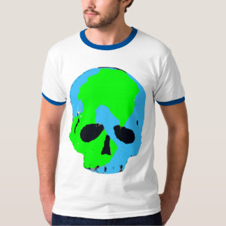 Earth Skull t shirt