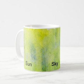Earth Sky Sun Coffee Mug