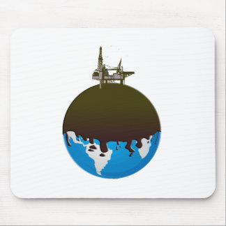 Earth Spill Mouse Pad
