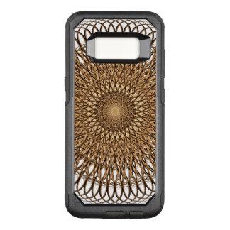 Earth Spiral Mandala OtterBox Commuter Samsung Galaxy S8 Case