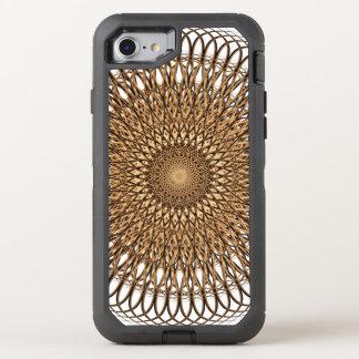 Earth Spiral Mandala OtterBox Defender iPhone 8/7 Case