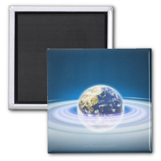 Earth Square Magnet