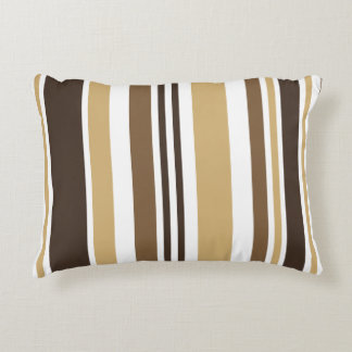 Earth Stripe Accent Pillow