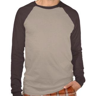 """EARTH SUN"" symbol/brown T-Shirt"