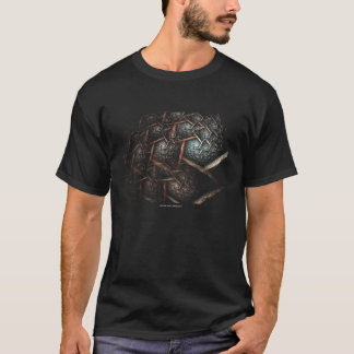 EARTH TEXTURE Genuine Fractal Tshirt