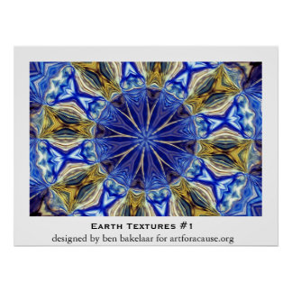 Earth Textures #1 Poster
