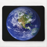 Earth The Beautiful Blue Marble Mousepads