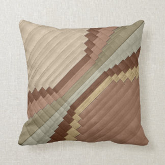 Earth Tone Abstract Designer Style 2 Cushion