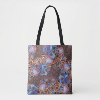 Earth Tone Beauty Tote Bag