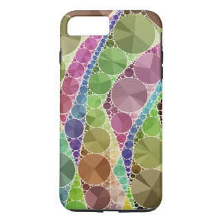 Earth Tone Bling Abstract Pattern iPhone 7 Plus Case
