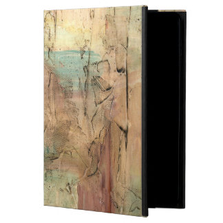 Earth Tone Painting with Cracked Surface iPad Air Covers