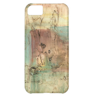 Earth Tone Painting with Cracked Surface iPhone 5C Case