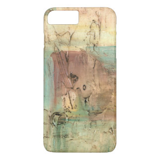 Earth Tone Painting with Cracked Surface iPhone 8 Plus/7 Plus Case