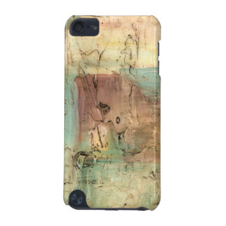 Earth Tone Painting with Cracked Surface iPod Touch (5th Generation) Covers
