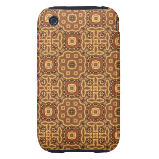 Earth Toned Abstract iPhone 3 Tough Covers