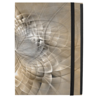 "Earth Tones Abstract Modern Fractal Art Texture iPad Pro 12.9"" Case"