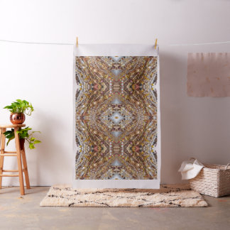 Earth Tones Bead Print Fabric