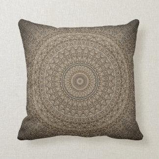 Earth Tones Throw Pillow
