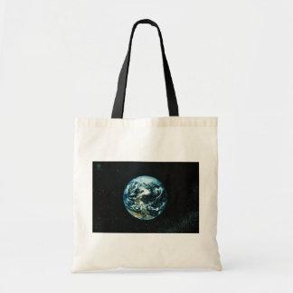 Earth Budget Tote Bag