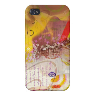 Earth Touching Budha iPhone 4/4S Covers
