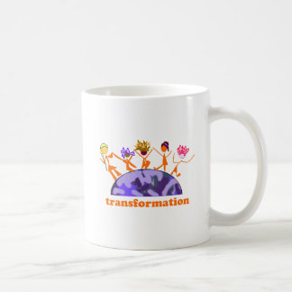 Earth Transformation Classic White Coffee Mug