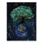 Earth Tree of Life Poster