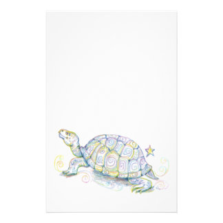 Earth Turtle Customized Stationery