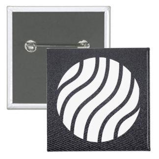 Earth Twists Pictogram 15 Cm Square Badge
