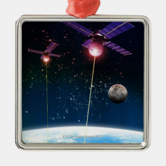 Earth Under Attack Christmas Ornament