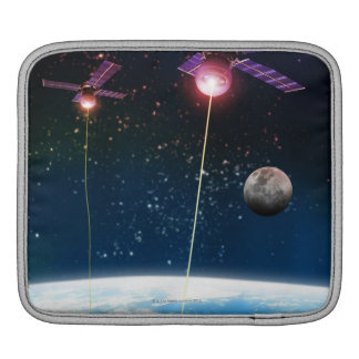 Earth Under Attack iPad Sleeve