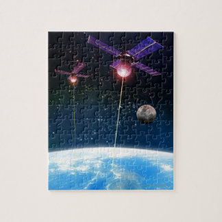 Earth Under Attack Jigsaw Puzzle