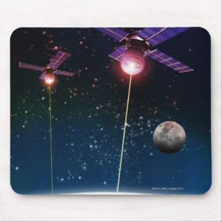 Earth Under Attack Mouse Mat