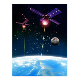 Earth Under Attack Postcard