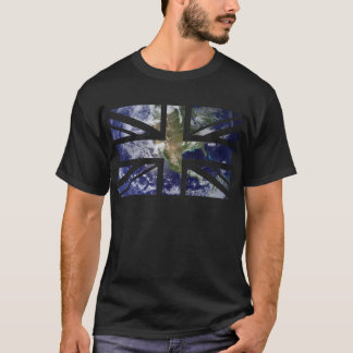 Earth Union Jack British(UK) Flag T-Shirt