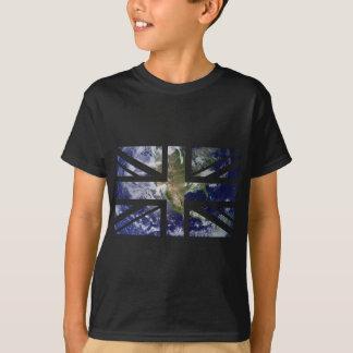 Earth Union Jack British(UK) Flag Tshirt
