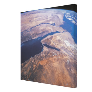 Earth Viewed from Space 2 Canvas Print