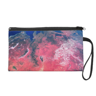 Earth Viewed from Space 2 Wristlet