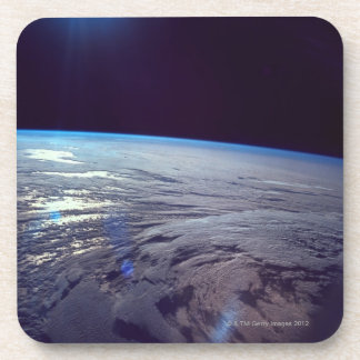 Earth Viewed from Space 3 Drink Coaster