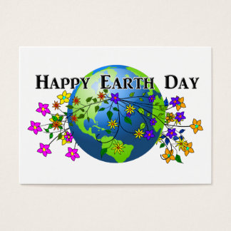Earth with Flowers