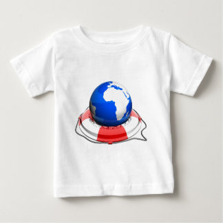 earth with life belt baby T-Shirt