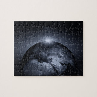 Earth With Special Effects Jigsaw Puzzle