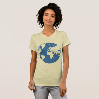 Earth / Women's Fitted T-Shirt