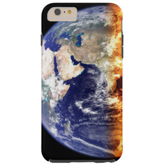 Earth World Globe Iphone6 Case Tough iPhone 6 Plus Case