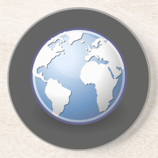 Earth World Globe Tango Coaster