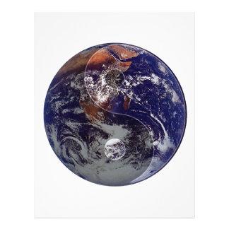 Earth Yin Yang Full Color Flyer