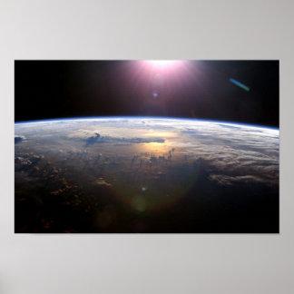 Earth Yuri Alexseyevich Gagarin Poster