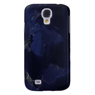 Earth�s human-generated nighttime lights Galaxy S4 Case