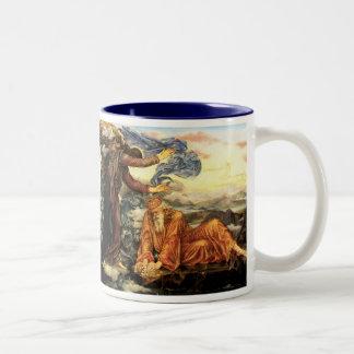Earthbound by Evelyn De Morgan Two-Tone Mug